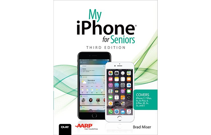 My iPhone for Seniors, book cover, 2017