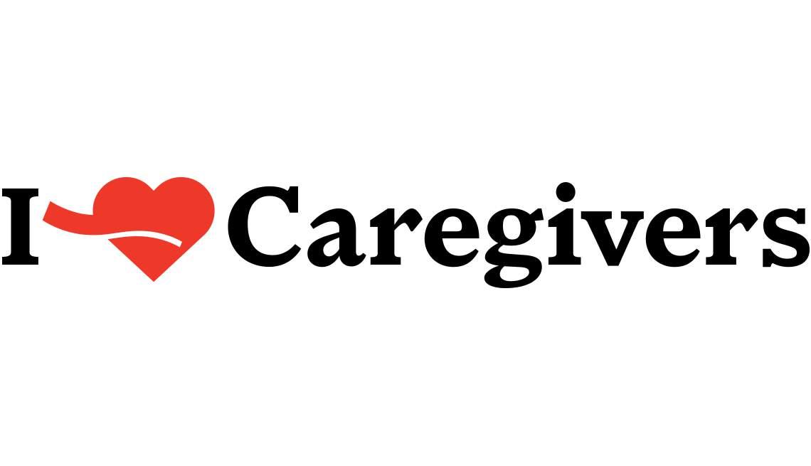 I Heart Caregivers Logo - AARP