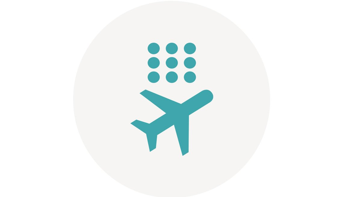 Access the airline fees calculator
