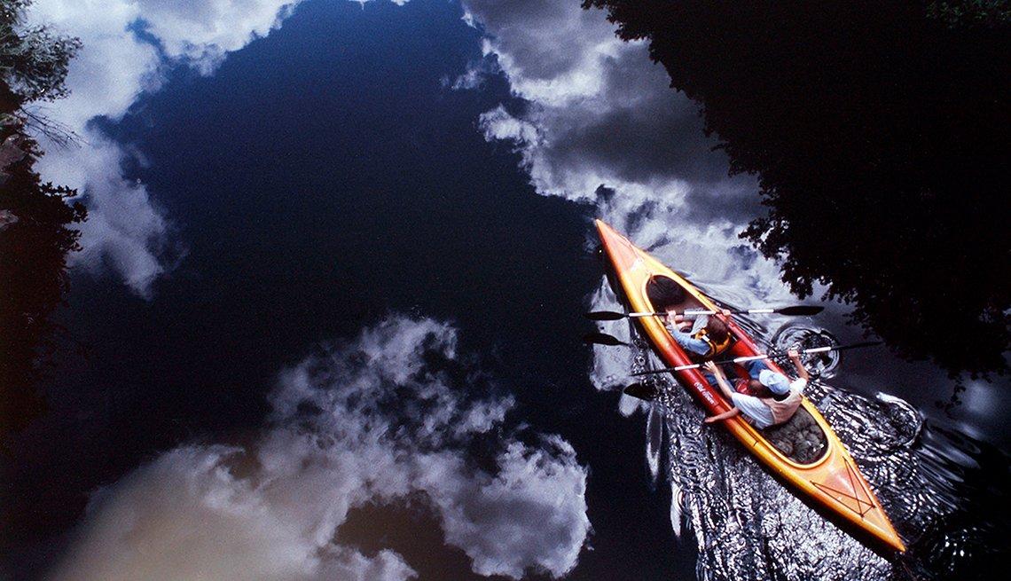 Kayak, River, Bruce Squiers,