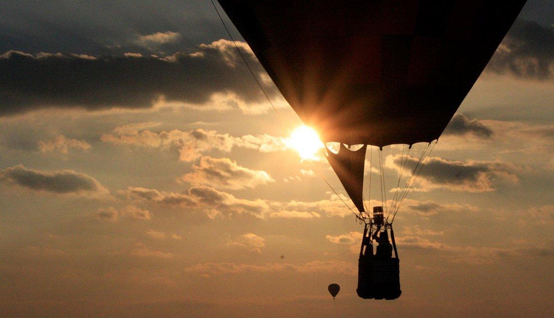 Sunset, Hot-air Balloon, Brenda George