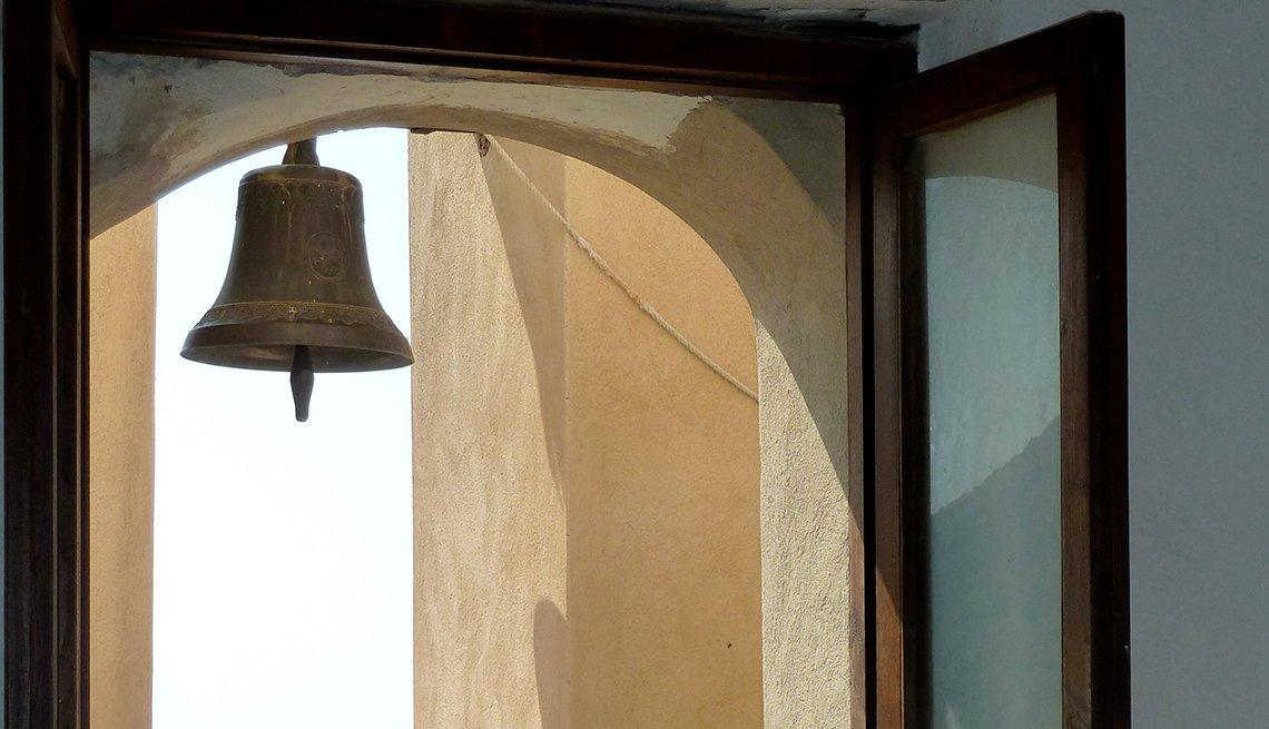 Window, Bell, Positano, Italy,