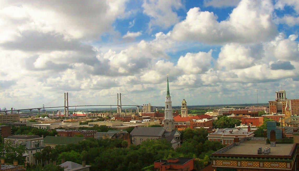 Savannah, Georgia, Clearing Skies, Calendar Contest, Alan Fulton