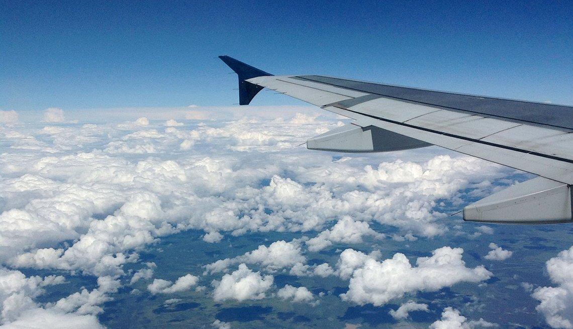 Airplane, Calendar Contest, clouds, Richard Sechelski