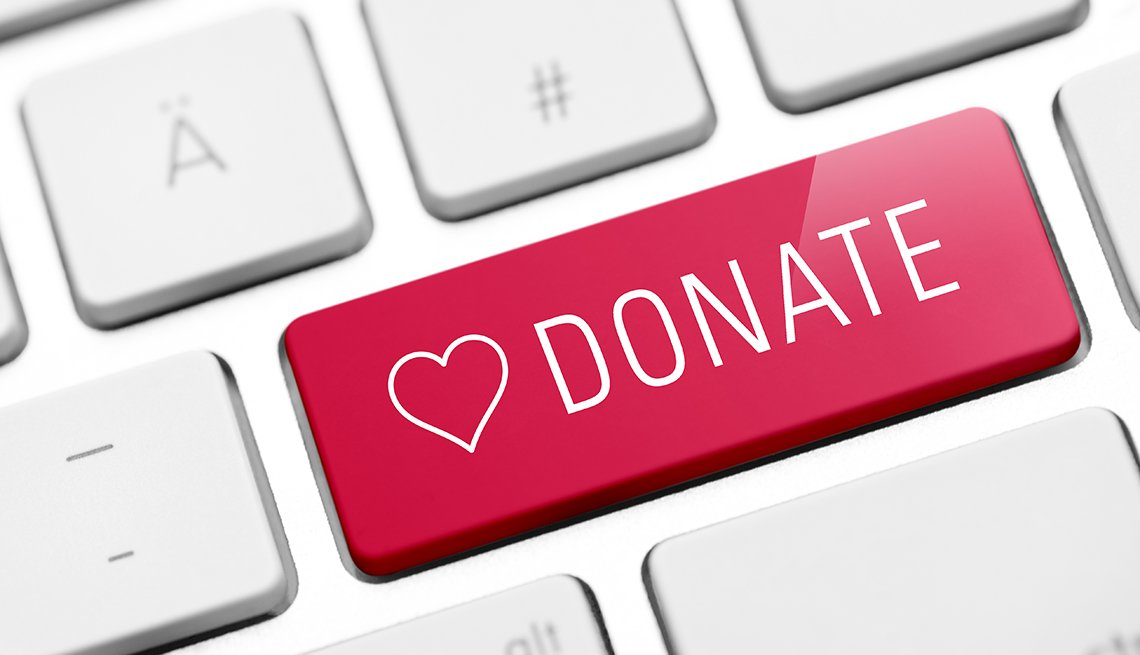 Donate Button, Online, AARP Foundation Experience Corps