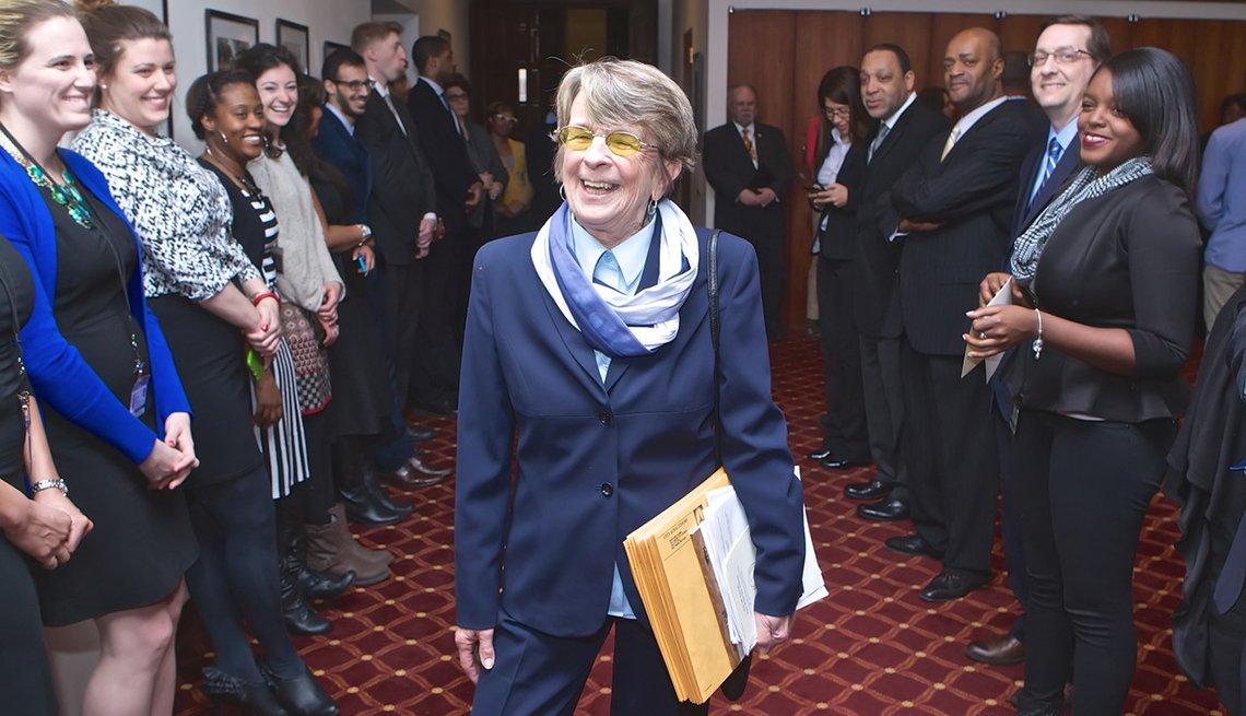 Mary Pat Clarke, Council Chambers, Baltimore City Hall, Supporters, AARP Experience Corps Community Leaders