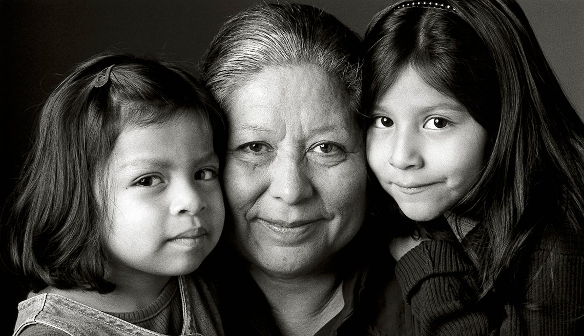 grandmother, granddaughters, guide to benefits, AARP Foundation