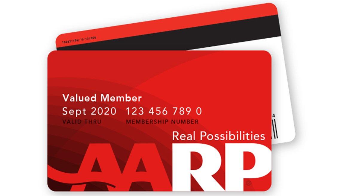 AARP membership card