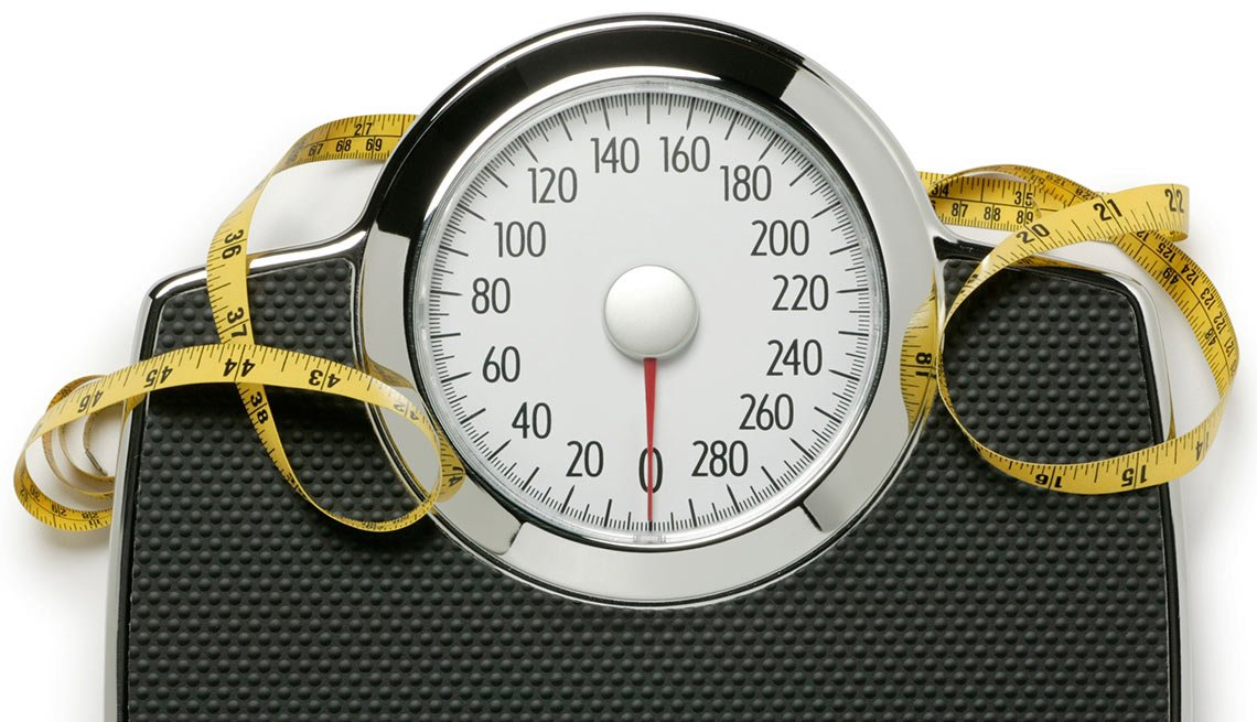 Scale and measureing tape - Body Mass Index calculator