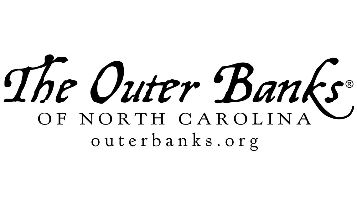 the outer banks of NC  Logo