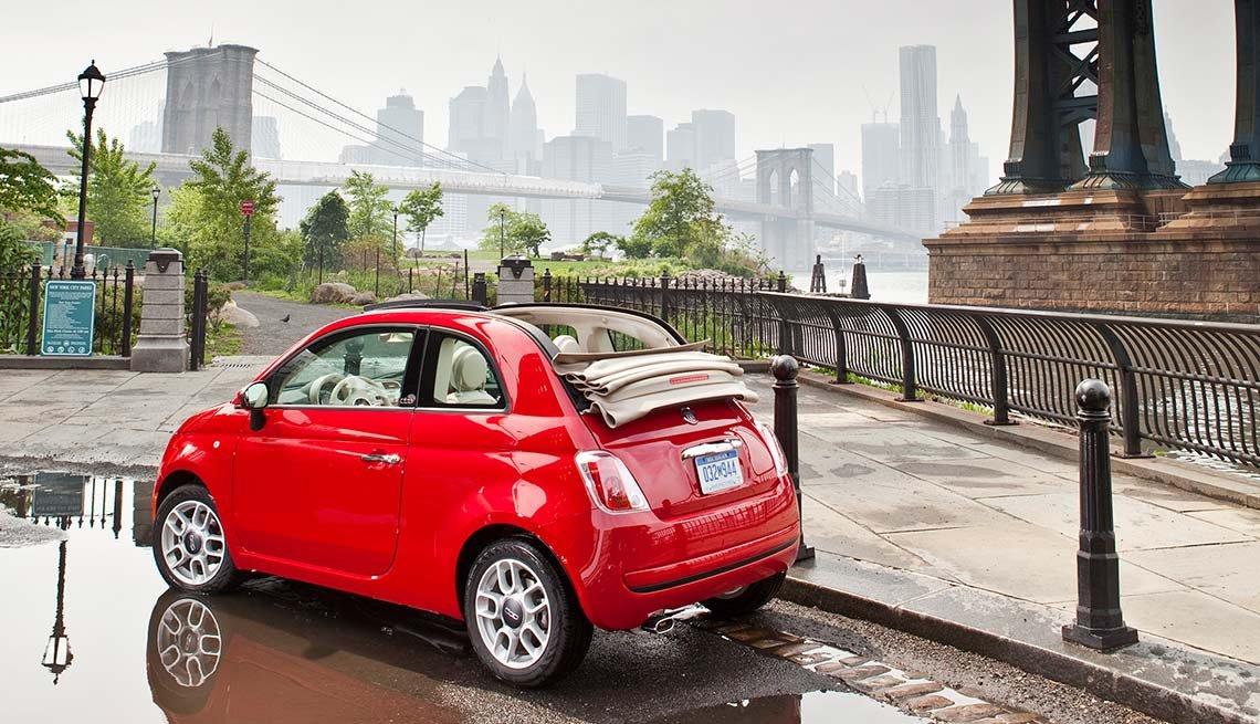 Automóviles para desplazarse al trabajo - 2016 Fiat 500c