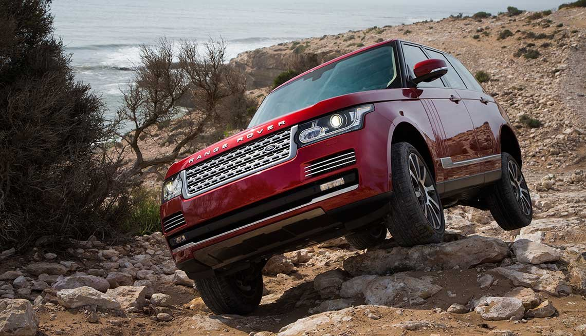 great road-trip cars Land Rover's Range Rover