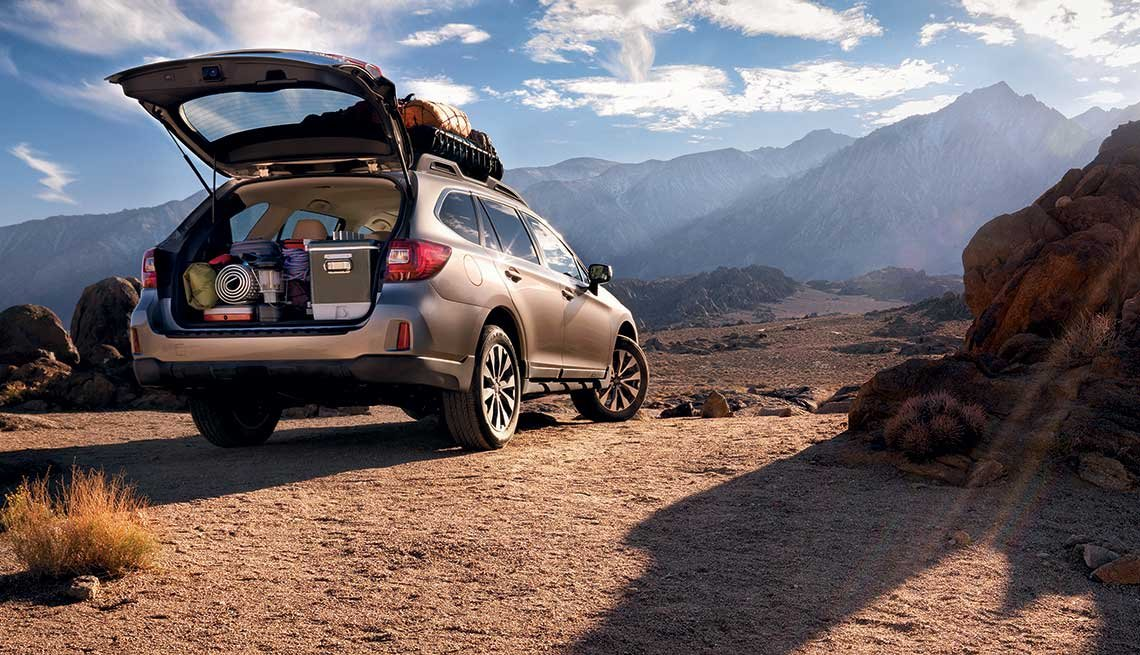 great road-trip cars Subaru Outback