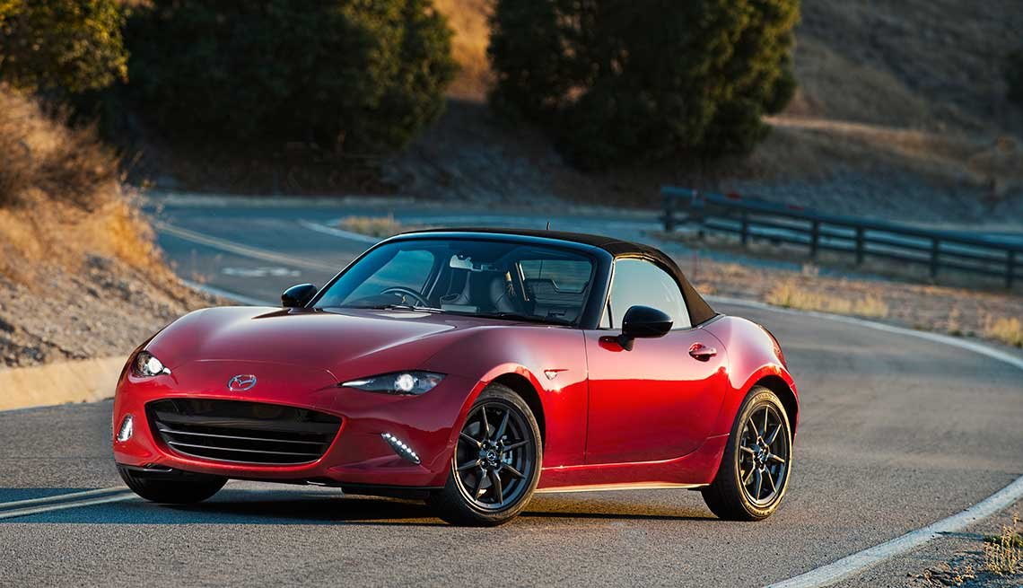 Mazda Miata, Great Road Trip Rental Cars