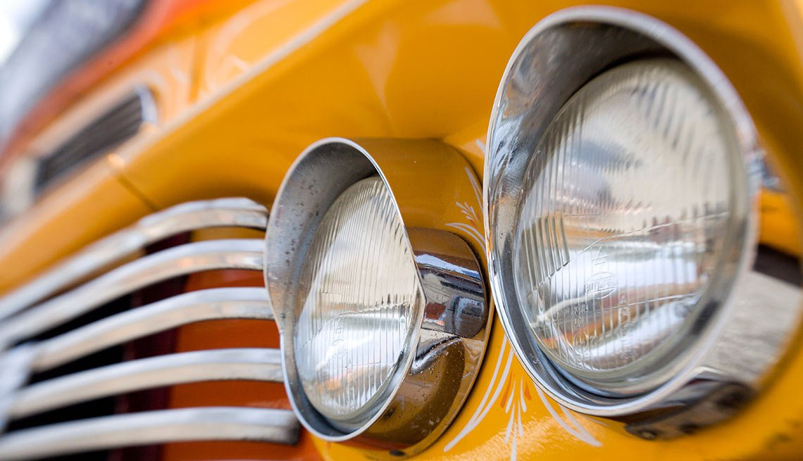 Remember When Cars Had These - Round headlights