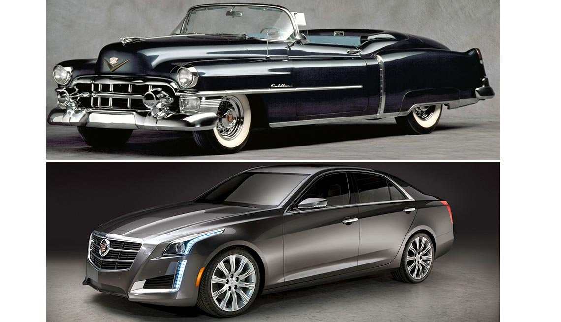 Classic Cars Then and Now - Cadillac