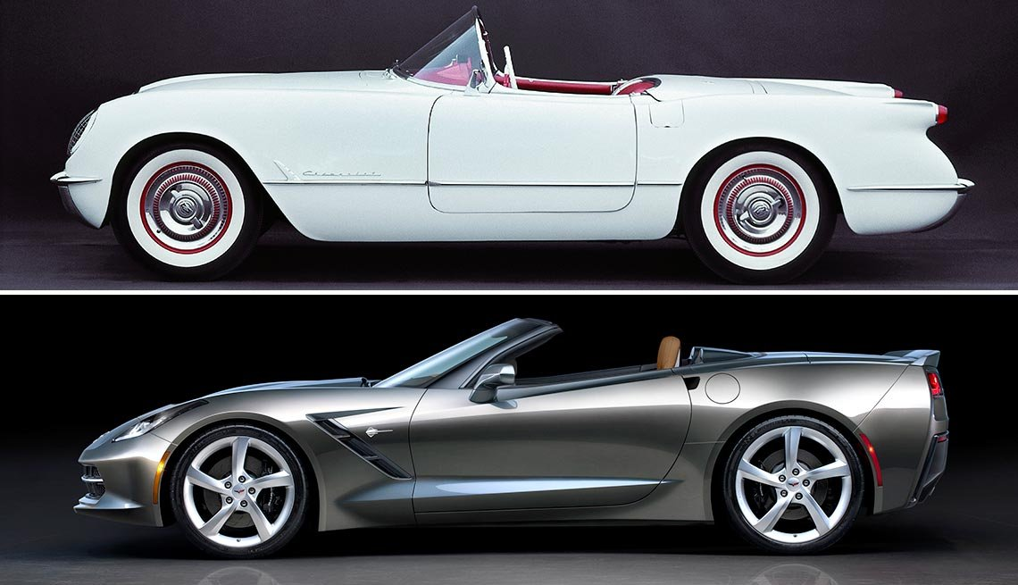 Classic Cars Then and Now - Chevrolet Corvette