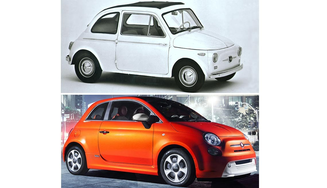 Classic Cars Then and Now - Fiat 500