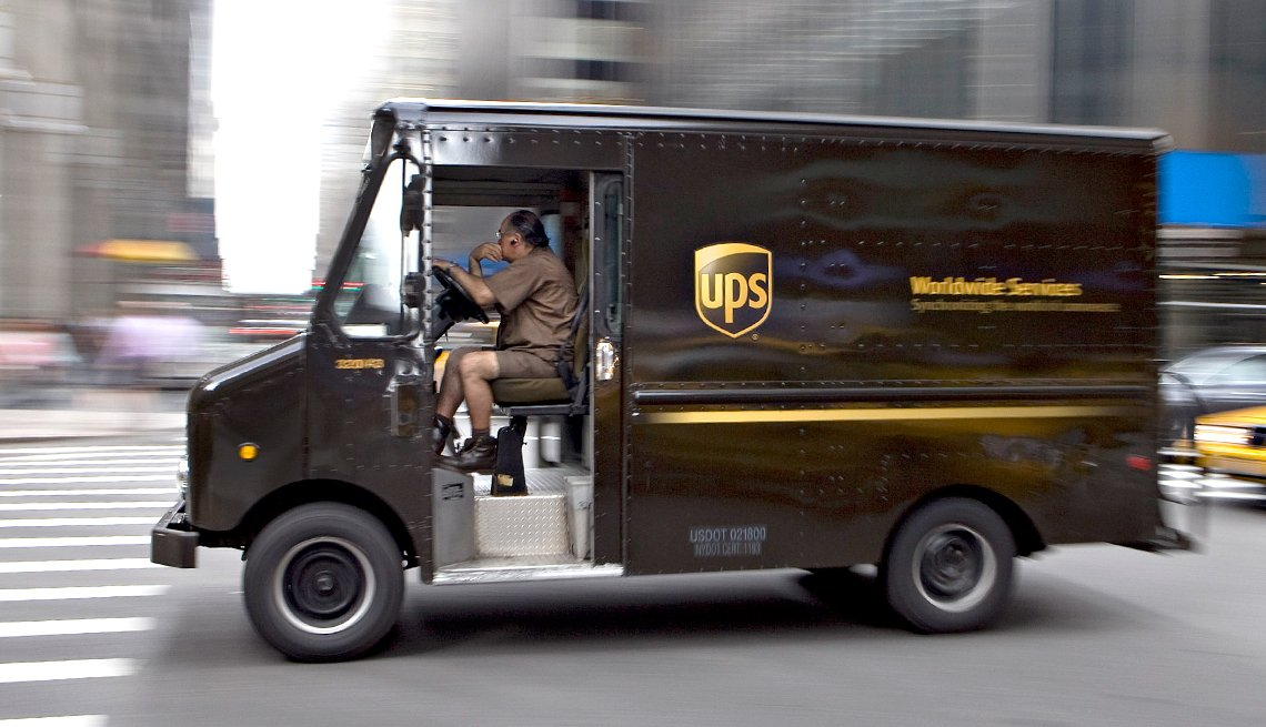 UPS routes has Americans rethinking the left-hand turn