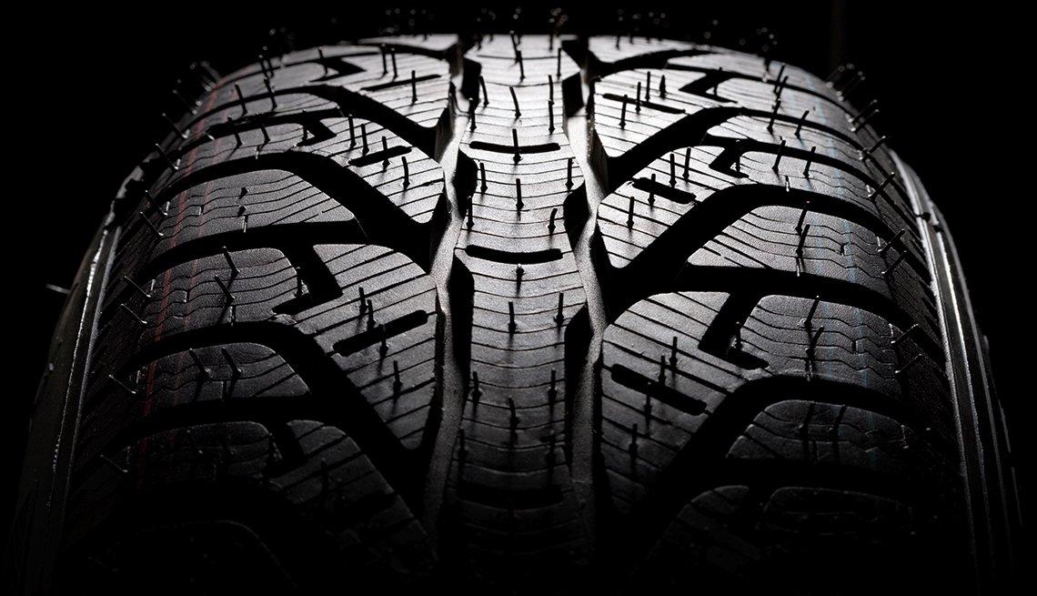 auto safety checklist - tire tread