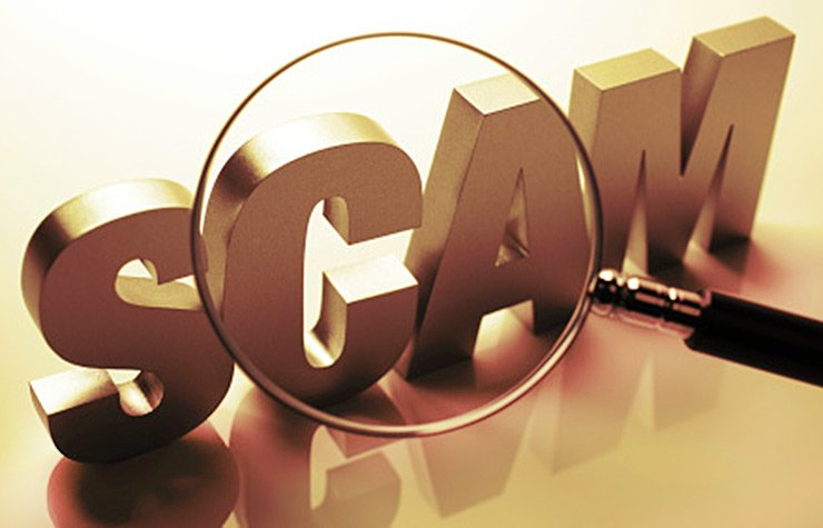 Scam and fraud Under Investigation