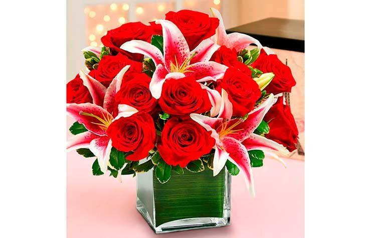 Member Benefits Discounts 1-800-Flowers Lily Valentines Day
