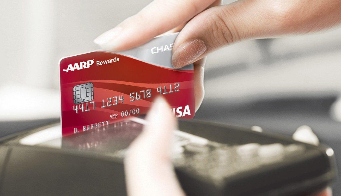 AARP Chase Card Swipe