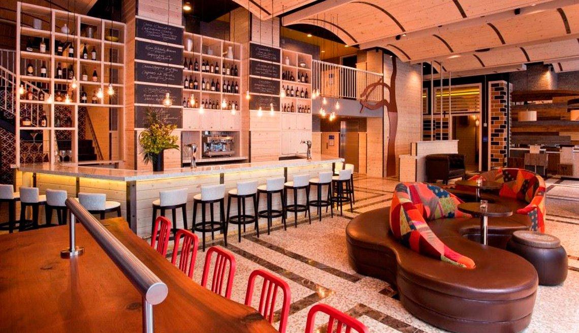 Lobby, Wyndham Hotel