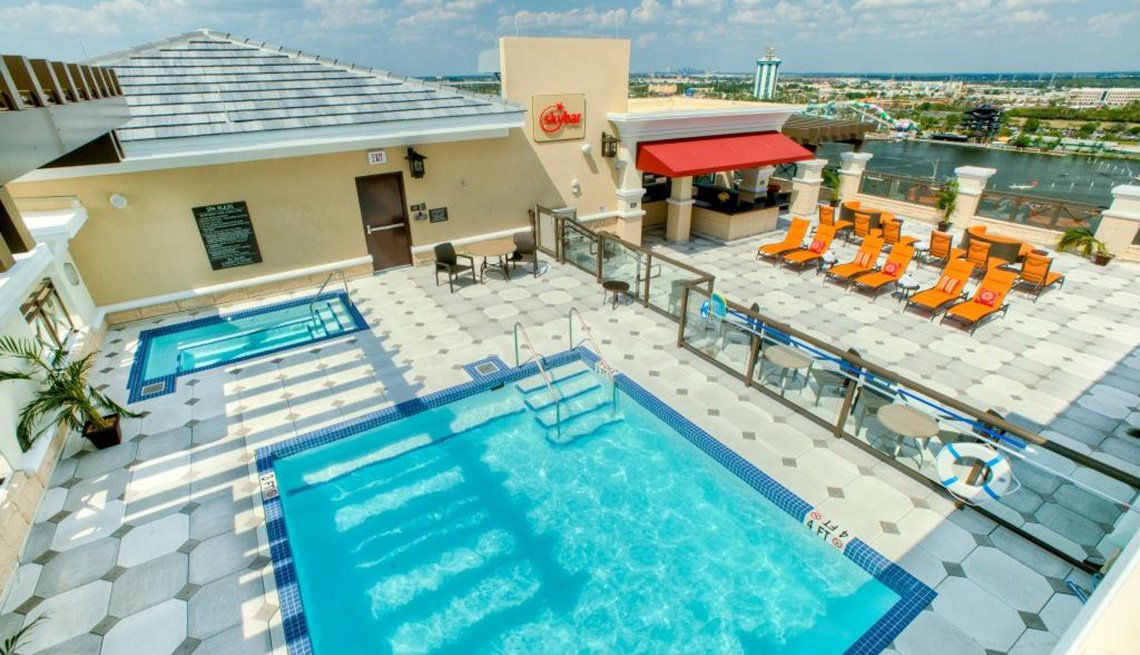 Swimming Pool, Wyndham Ramada