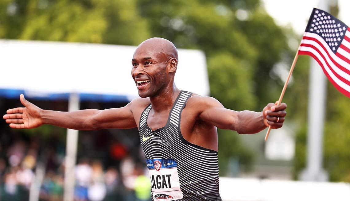 Bernard Lagat, 41, runner