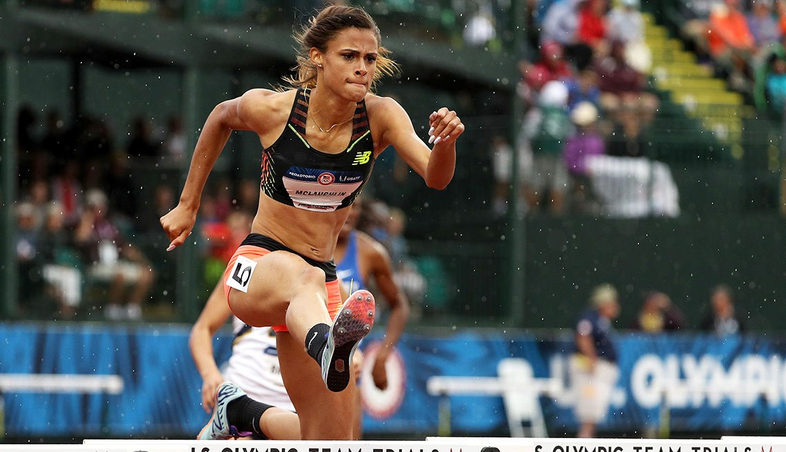Sydney McLaughlin, 16, track