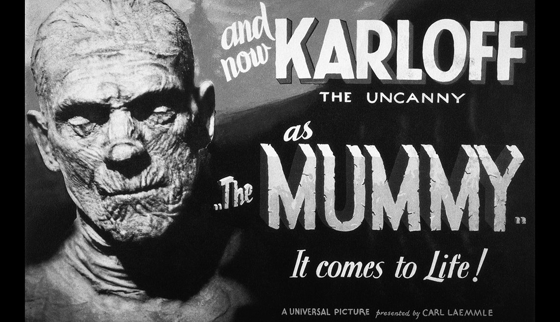 Karloff as The Mummy movie poster