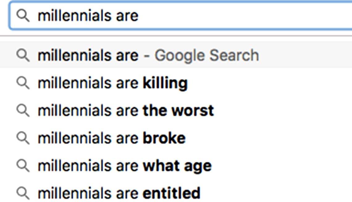millennial alert,   Et Tu, Google?