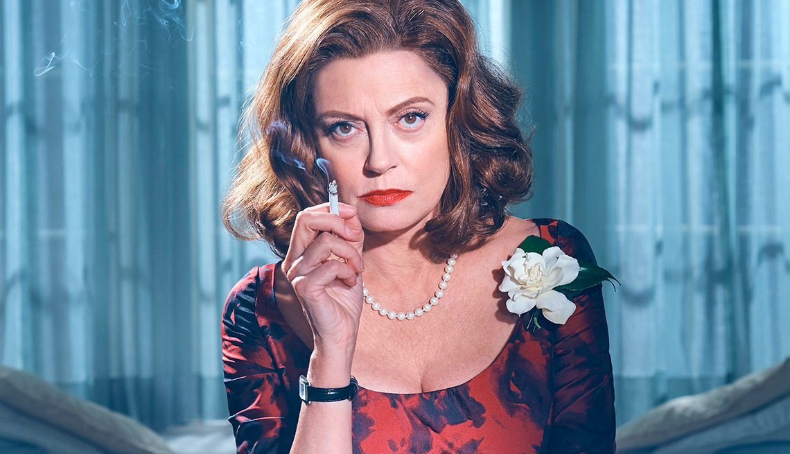 Susan Sarandon as Bette Davis in Feud