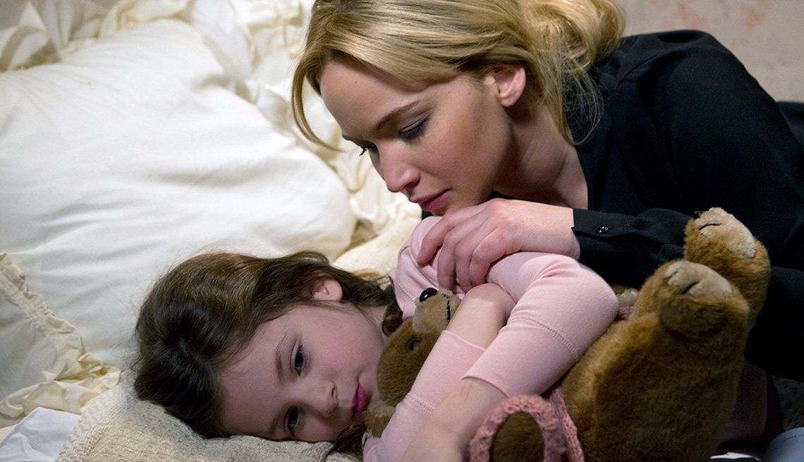 Jennifer Lawrence and Gia Gadsby in 'Joy'