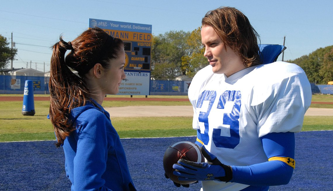 Minka Kelly and Taylor Kitsch in 'Friday Night Lights'