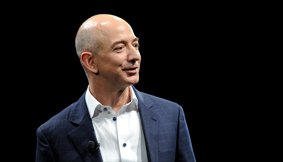Jeff Bezos, CEO, Amazon, 2014 January Celebrity Birthday Milestones