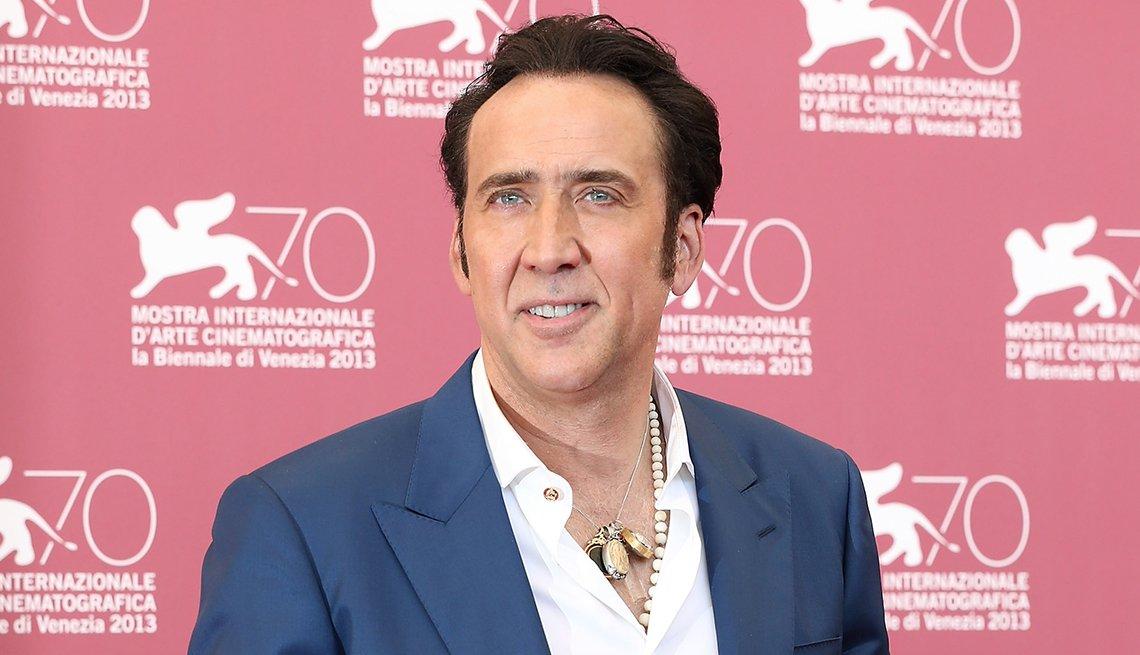 Actor, Nicolas Cage, 2014 January Celebrity Milestone Birthdays