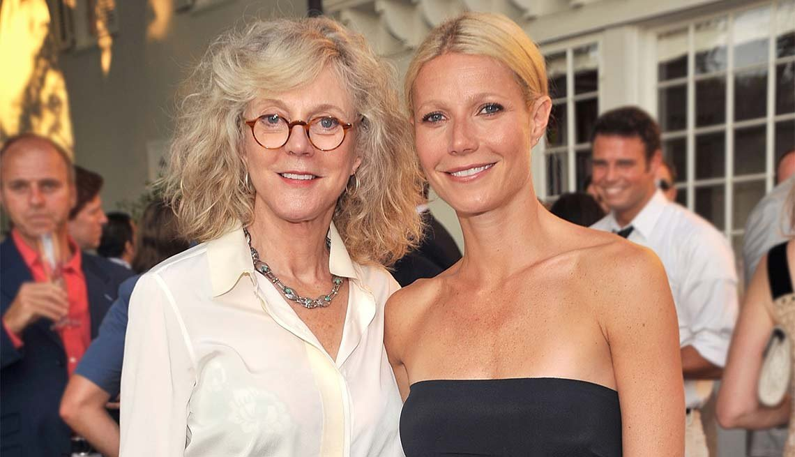 Blythe Danner, Actress, Gwyneth Paltrow, Look Who's A Grandma