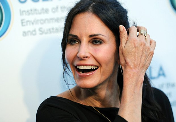 Courteney Cox, Can't Believe They're 50+.