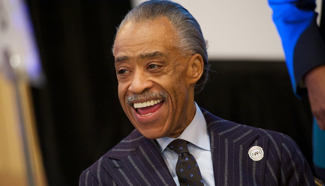 Al Sharpton, 60, Activist, Minister, Religious Figure, October 2014 Celebrity Birthday Milestones