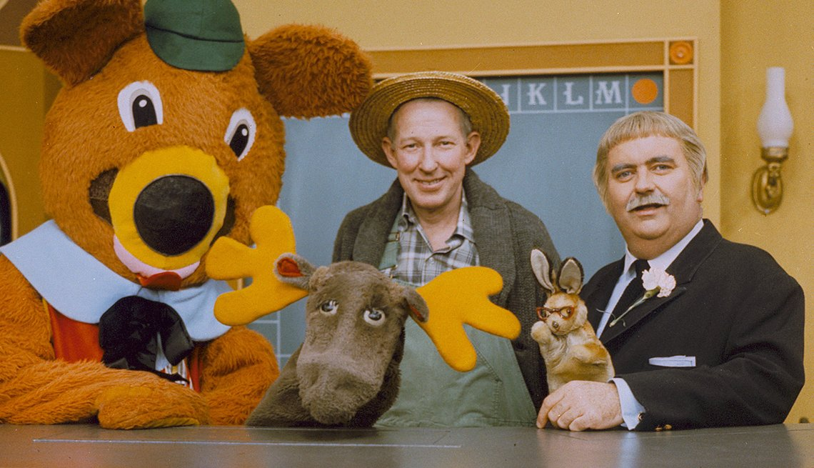 You Know You're a Boomer if, Captain Kangaroo television set, puppets, Mr. Greenjeans