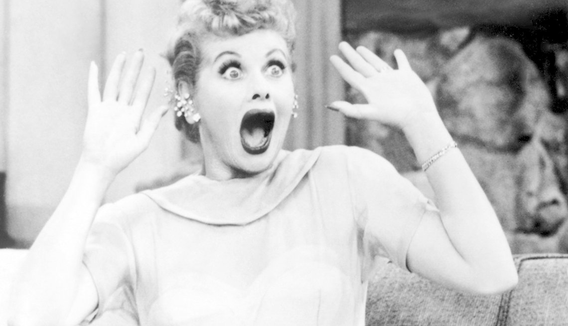You Know You're a Boomer if, Lucille Ball on television