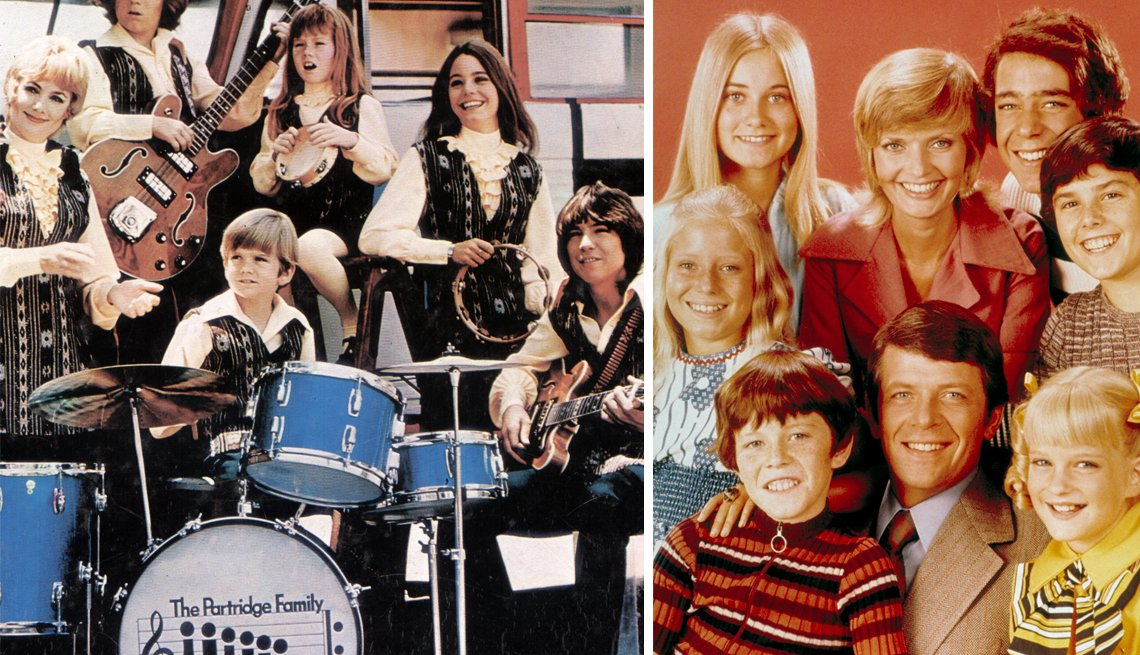 You Know You're a Boomer if, Partridge Family group, The Brady Bunch
