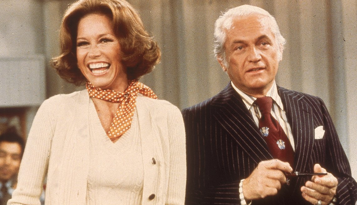 You Know You're a Boomer if, Mary Tyler Moore and Ted Knight