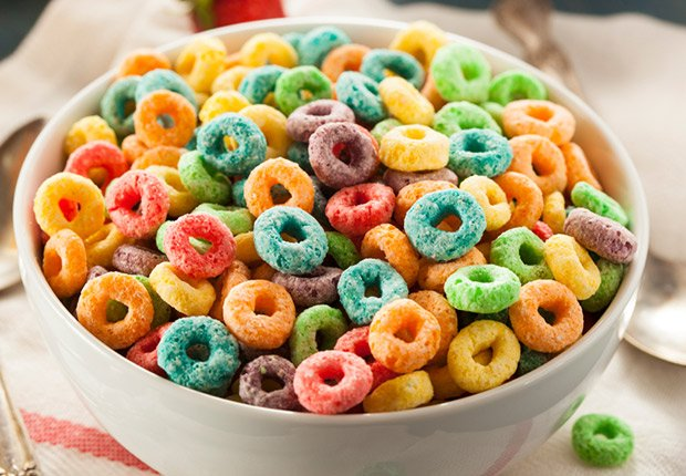 Colorful Fruit Cereal Loops, You Know You're a Boomer