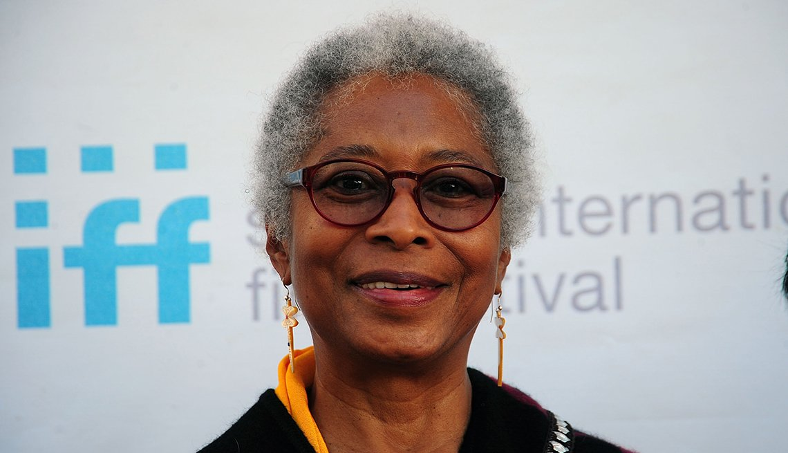 Writer, Alice Walker, Celebrity Grey Hairstyles