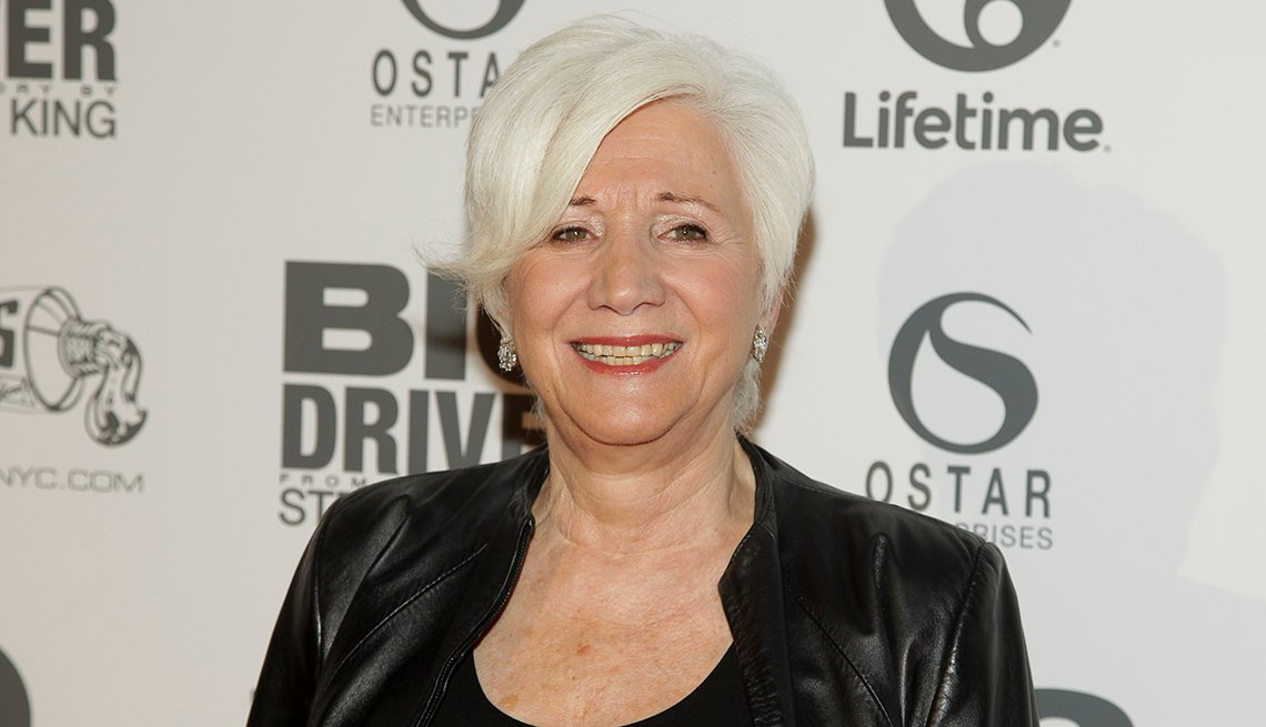 Actress Olympia Dukakis, Grey Hair, Celebrity Grey Hairstyles