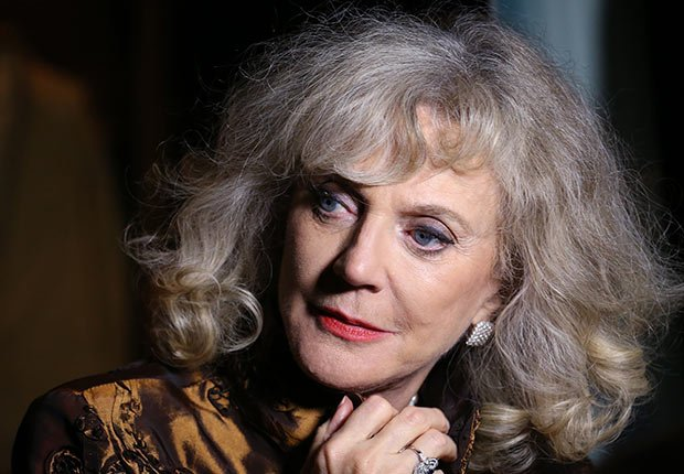 Blythe Danner, Celebrities Who Rock Gray Hair