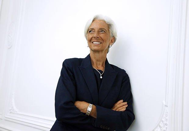 Christine Lagarde, Celebrities Who Rock Gray Hair